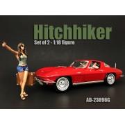 AD-23896G Hitchhiker Set (2 figures Set) - green shirt