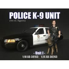 AD-38163 1:18 Police K9 Unit - Unit I