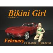 AD-38166 1:18 Bikini Girl - February