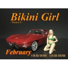 AD-38266 1:24 Bikini Girl - February