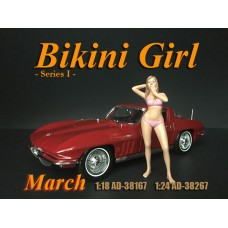 AD-38167 1:18 Bikini Girl - March