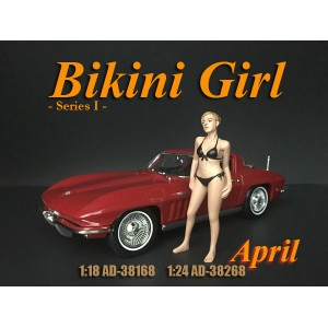 AD-38268 1:24 Bikini Girl - April
