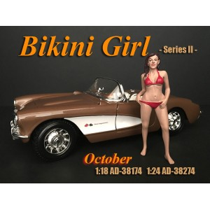 AD-38174 1:18 Bikini Girl - October