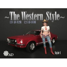 AD-38201 1:18 The Western Style I