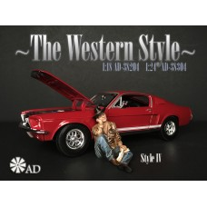 AD-38204 1:18 The Western Style IV