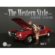 AD-38305 1:24 The Western Style V