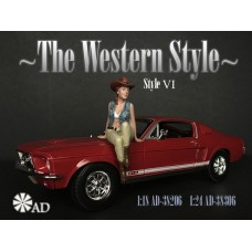 AD-38206 1:18 The Western Style VI