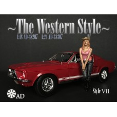 AD-38207 1:18 The Western Style VII