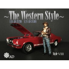 AD-38208 1:18 The Western Style VIII
