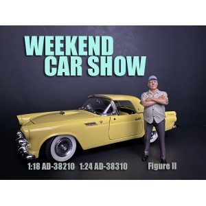 AD-38310 1:24 Weekend Car Show Figure II
