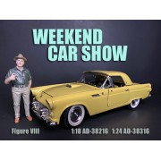 AD-38216 1:18 Weekend Car Show Figure VIII