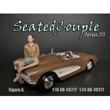 AD-38217 1:18 Seated Couple III - Figure A