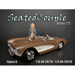 AD-38318 1:24 Seated Couple III - Figure B
