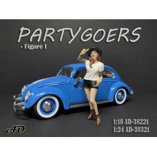 AD-38221 1:18 Partygoers - Figure I