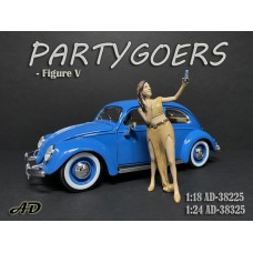 AD-38225 1:18 Partygoers - Figure V