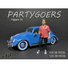 AD-38226 1:18 Partygoers - Figure VI
