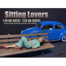 AD-38331 1:24 Sitting Lovers - Figure II