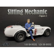 AD-38232 1:18 Sitting Mechanic - Figure I