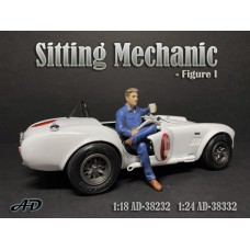 AD-38332 1:24 Sitting Mechanic - Figure I