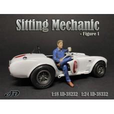 AD-38232 1:18 Sitting Mechanic - Figure I