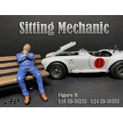 AD-38233 1:18 Sitting Mechanic - Figure II