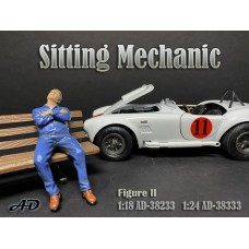 AD-38333 1:24 Sitting Mechanic - Figure II