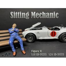 AD-38233 1:18 Sitting Mechanic - Figure II