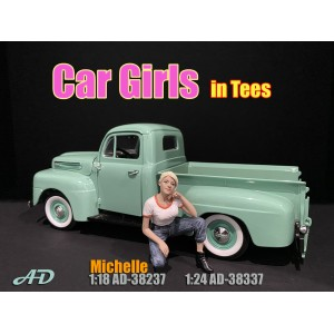 AD-38337 1:24 Car Girl in Tee - Michelle