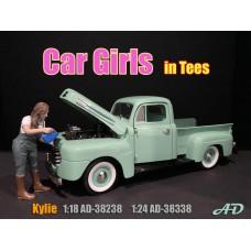 AD-38338 1:24 Car Girl in Tee - Kylie