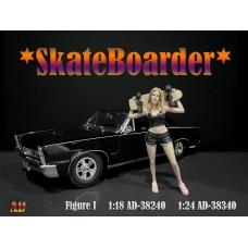 AD-38240 1:18 Skateboarder - Figure I