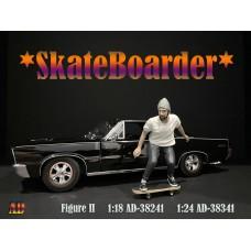 AD-38341 1:24 Skateboarder - Figure II