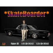 AD-38342 1:24 Skateboarder - Figure III