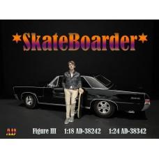 AD-38242 1:18 Skateboarder - Figure III