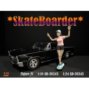 AD-38343 1:24 Skateboarder - Figure IV
