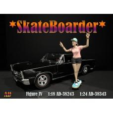 AD-38243 1:18 Skateboarder - Figure IV