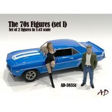 AD-38351 1:43 70s Style Figure (Set I)