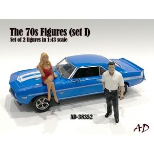 AD-38352 1:43 70s Style Figure (Set II)
