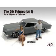 AD-38353 1:43 70s Style Figure (Set III)