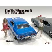 AD-38354 1:43 70s Style Figure (Set IV)