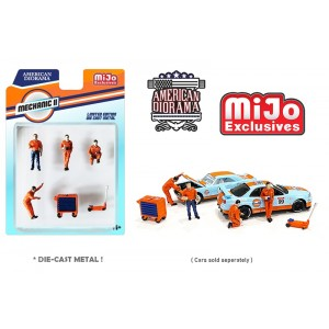AD-38410MJ 1:64 Limited Edition Die Cast Figure Set - Mechanic II