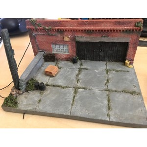 "1:64 Diorama - ""My Old Garage"" (MiJo Exclusive)"