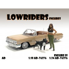 AD-76376 1:24 Lowriderz - Figure IV