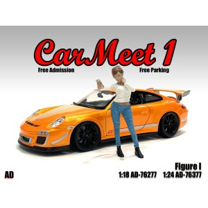 AD-76377 1:24 Car Meet 1 - Figure I
