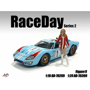 AD-76399 1:24 Race Day 2 - Figure V