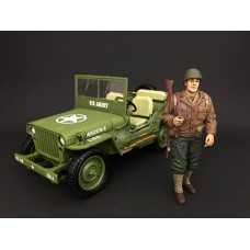 AD-77410 WWII US Army Figure -I