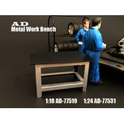 AD-77531 Accessory - 1:24 Scale Metal Work Bench