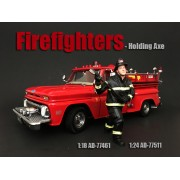 AD-77511 Firefighter - Holding Axe