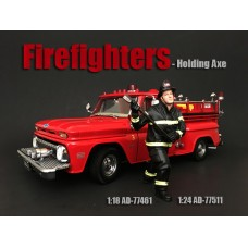 AD-77461 Firefighter - Holding Axe