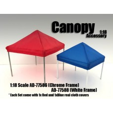 AD-77588 Accessory - Canopy (White frame)