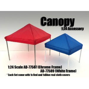 AD-77589 Accessory - Canopy (White frame)